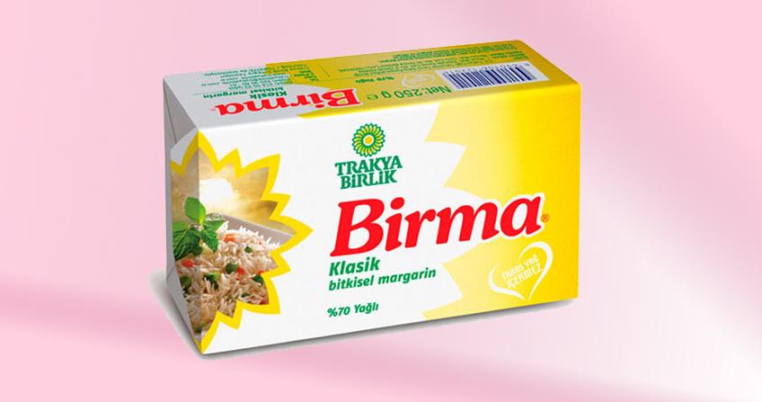 Birma Bowl Margarine